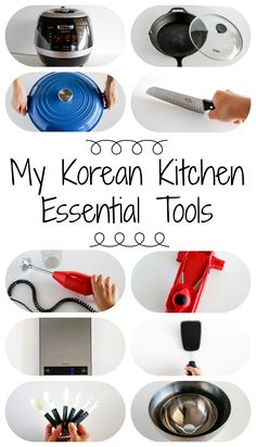My Korean Kitchen Essential Tools | MyKoreanKitchen.com