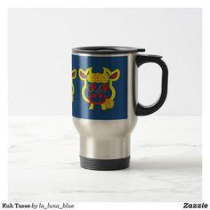 Kuh Tasse Travel Mug, Tableware, La Luna, Cow, Animals, Dinnerware, Tablewares, Place Settings