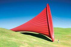 Anish Kapoor sculptures an absolute genius