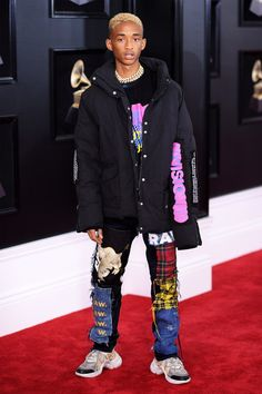 World's Best Jaden Smith Stock Pictures, Photos, and Images - Getty Images Will Smith, Hip Hop Outfits, Retro Outfits, Fashion Week, Mens Fashion, Fashion Outfits, Lifestyle Fashion, Fashion Fall, Fashion Advice
