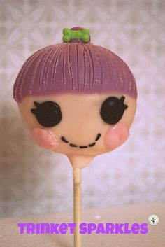 trinket sparkles lalaloopsy cake pop
