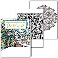 OCEANS Stress Relieving Adult Coloring Book with Colored Pencils ...