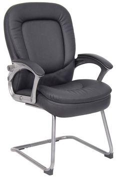 Boss Office Products B7109 Boss Pillow Top Guest Chair