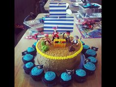 jake and the never land pirates cake - Google Search