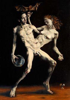 Hermafrodita por Gabriel Grun