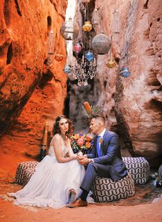 Moroccan-meets-Mediterranean  wedding ideas