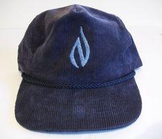 Vintage Strapback Rope Hat Corduroy NW Natural Gas- supreme 80s 90s skate  #Otto #BaseballCap