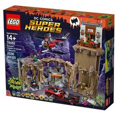 The Official 1960's Batman Television Series Batcave LEGO Set (Contains 2,526 Pieces, Costs $270)
