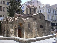Oldest church in Athens. City is Yours: http://www.cityisyours.com/explore.Discover and collect amazing bucket lists created by local experts. #Athens #travel #BucketList