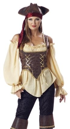 Sexy Adult Halloween Costume Female Pirate Dress Outfit in Clothing, Shoes & Accessories | eBay