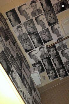 The girls' bathroom on senior prank day... Colton Hayes is my bae  @Michelle Flynn Zhang @dommie dom Kirker @AJ Epp