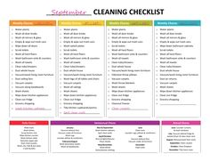 house cleaning list, cleaning list, master cleaning list, cleaning schedule, monthly cleaning, housekeeping, cleaning checklist, spring cleaning, organization, cleaning calendar, weekly cleaning