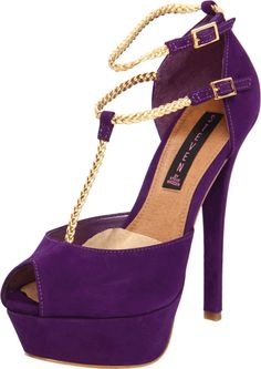 purple stiletto high heel women shoes | Heels, Woman shoes and Women's