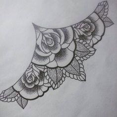Ver esta foto do Instagram de @john_wolf_april • 49 curtidas tattoo underboob rosea line