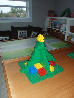 Leuke uitdaging! Christmas Tree Kerstboom van Duplo. Lego kan natuurlijk ook!
