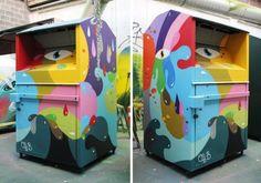 Urban art by Oli B #olib #streetart #art #graffiti #urbanart #graffiti