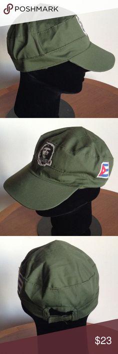 Che Guevara Vintage Handmade Cuban Army Hat Like new vintage design Cuban Che  Guevara army hat Authentic Original Vintage Style Accessories Hats 7ce30fed0beb