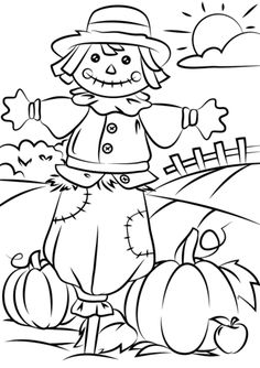 Free Printable Fall Coloring Pages autumn scene with scarecrow coloring page free printable Free Printable Fall Coloring Pages. Here is Free Printable Fall Coloring Pages for you. Free Printable Fall Coloring Pages autumn scene with scarecrow. Fall Coloring Sheets, Fall Leaves Coloring Pages, Leaf Coloring Page, Pumpkin Coloring Pages, Thanksgiving Coloring Pages, Halloween Coloring Pages, Mandala Coloring Pages, Christmas Coloring Pages, Scarecrow Coloring Pages Free Printable