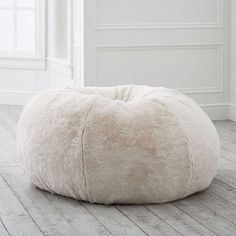 Find bean bag chairs with cozy covers and create a cool and comfy lounge space. From fur to fringe, Pottery Barn Teen's bean bags give the room a fresh new look. Big Bean Bags, Faux Fur Bean Bag, Round Chair, Pottery Barn Teen, Pottery Barn Bean Bag, Pbteen, My New Room, Swivel Chair, Chair Cushions