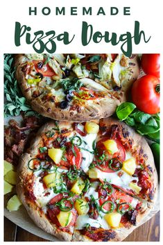 Chef Billy Parisi gives The Inspired Home the perfect homemade pizza dough recipe that everyone will love! Cream Pie Recipes, Pizza Recipes, Grilling Recipes, Cooking Recipes, Healthy Recipes, Fresh Eats, Whole Wheat Pizza, Making Homemade Pizza, Homemade Pickles