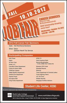 jist card template - angelo state university summer camp job fair 2013 january