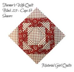 FWQ - Block 25 | by Material Girl Quilts