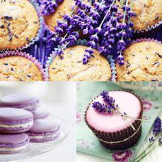 Lavender Wedding Food Ideas for a peacock wedding theme or bridal shower.