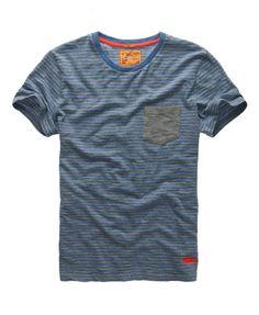 Superdry Grindle Stripe T-shirt - Men's T Shirts