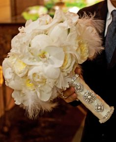Not the bouquet but the bling wrap I like