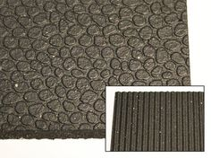 Model - x x Revulcanized Rubber Mat - Pebble pattern surface - Computer cut edges ensure mats are straight, square and consistently sized for best fit when installed Rubber Mat, Crossfit, Flooring, Model, Pattern, Scale Model, Patterns