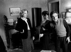 Catherine Deneuve e Francois Truffaut L'ultimo metrò (1980)