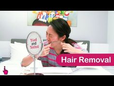 Hair Removal - Tried and Tested: EP9 - YouTube