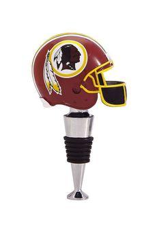 Washington Redskins Football Helmet Wine Bottle Stopper