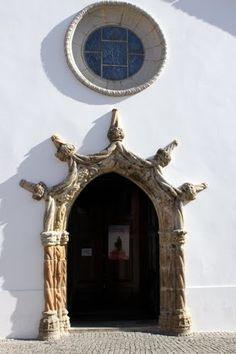 Church main door entrance Monchique - Portugal