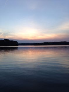 Sunset of Lake Hartwell