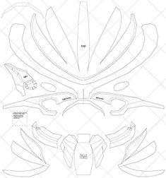 hazlo tú mismo Stegosaurus Dinosaurio plantilla hoja de máscara reutilizable PP para Artes y artesanías