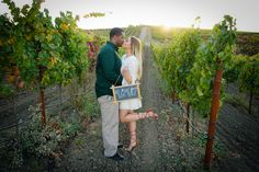 Vineyard Engagement Photos, Wedding, Valentines Day Weddings, Mariage, Weddings, Marriage, Casamento, Chartreuse Wedding