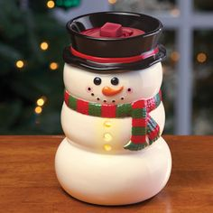 Snowman Wax Melt Warmer