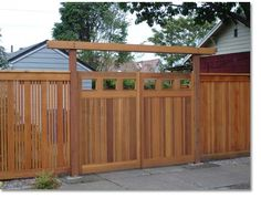 Creative Fences & Deck | Portland, OR | Wood and Iron Gates