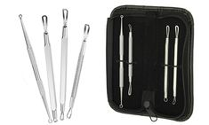 Groupon Goods Global GmbH: Five-Piece Blemish and Blackhead Remover Tool Kit…