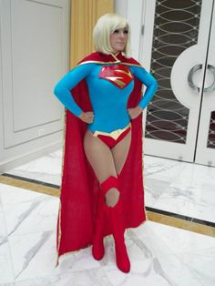 The Sexy Cosplay Girls of Every Nerd's Fantasy #SuperGirl #sexy #cosplay