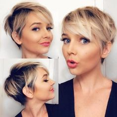 Short Hairstyles - Best Pixie Cut Hairstyle Ideas For Women 2019 . - Short Hairstyles – Best Pixie Cut Hairstyle Ideas For Women 2019 … Latest Short Hairstyles, Short Pixie Haircuts, Pixie Hairstyles, Summer Hairstyles, Pixie Haircut Fine Hair, Ladies Hairstyles, Pixie Haircut For Round Faces, Asian Hairstyles, Trendy Haircuts