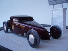 '34' Ford Bonneville Salt Flat racer