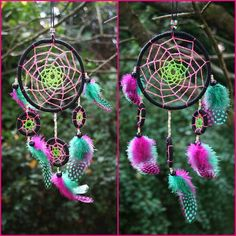 Hey, I found this really awesome Etsy listing at https://www.etsy.com/listing/178850599/uv-neon-dreamcatcher