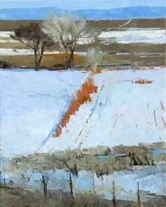 Dinah Worman (b.1950), January Red Willows