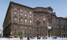 Residenze Reali a #Torino: Palazzo Carignano