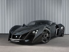 Russian Super car Marussia-B2-Black