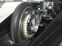 TIGA 可変界磁モーター  variable field magnet motor  Solar Car.flv
