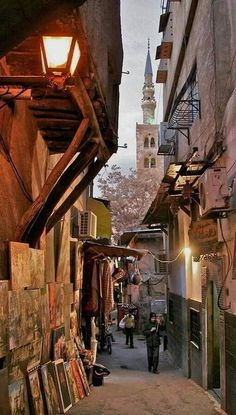 Old damascus, Syria