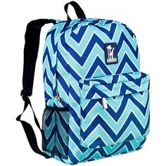 Wildkin Chevron Backpack   43 Super Cool Backpacks For Grownups